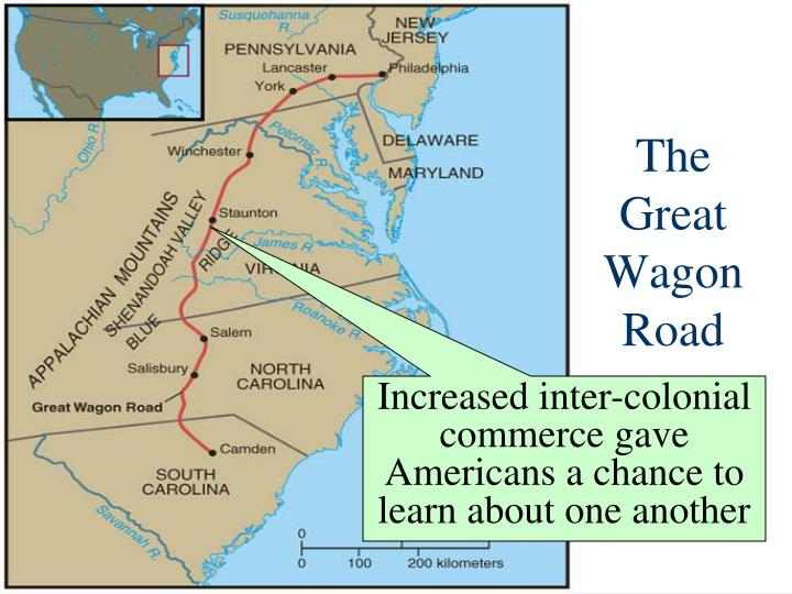The    Great Wagon Road