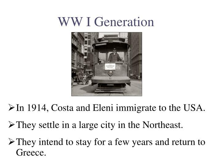 WW I Generation