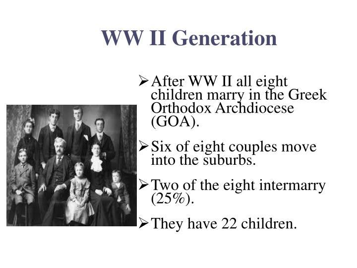 WW II Generation