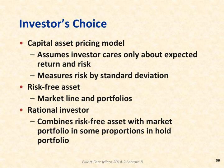 Investor's Choice