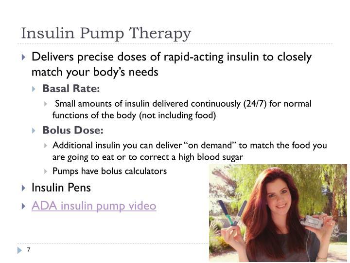 Insulin Pump Therapy