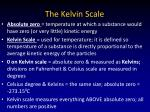 the kelvin scale