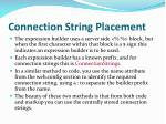 connection string placement3