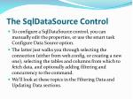 the sqldatasource control1