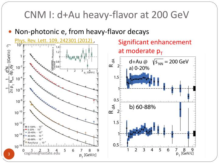 CNM I: d+Au heavy-flavor at 200 GeV
