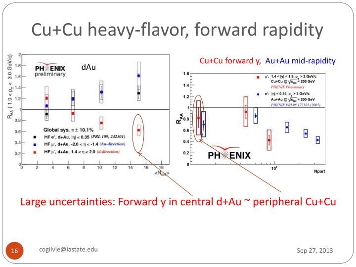 Cu+Cu heavy-flavor, forward rapidity