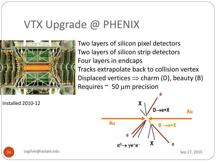 VTX Upgrade @ PHENIX