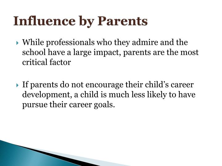 Influence by Parents
