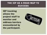 the iep as a road map to success3