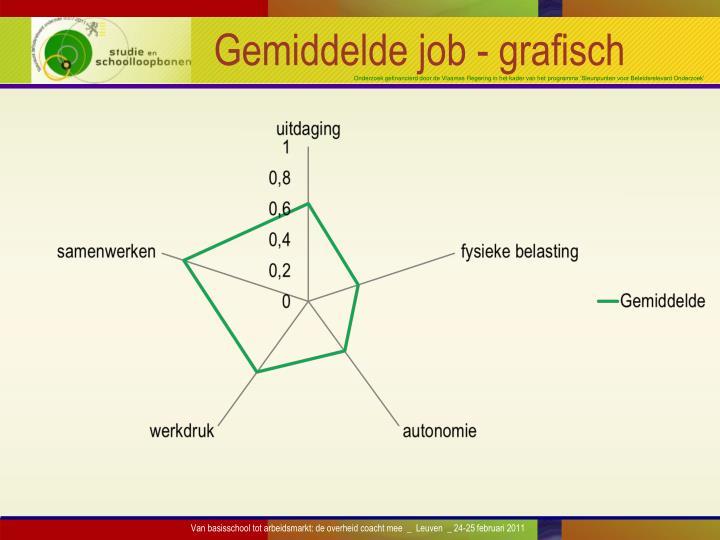 Gemiddelde job - grafisch