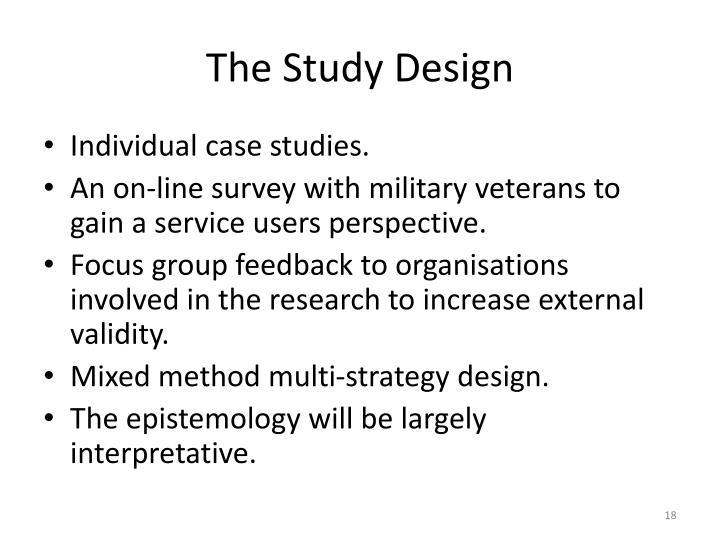 The Study Design