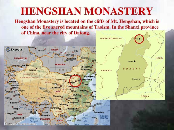 HENGSHAN MONASTERY