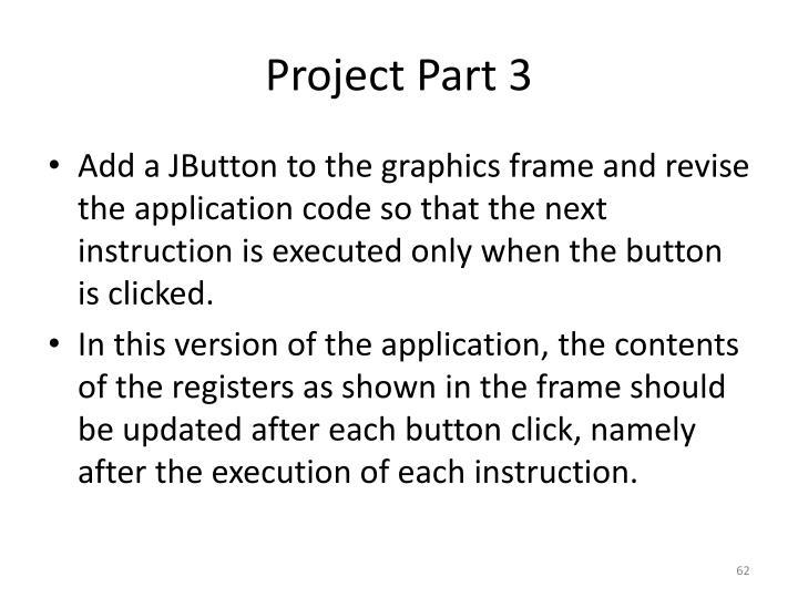 Project Part 3