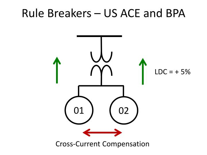 Rule Breakers – US ACE and BPA