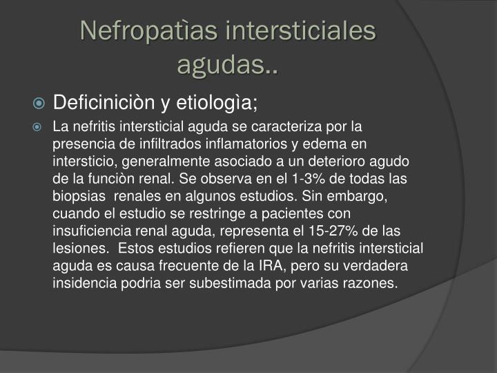Nefropatìas