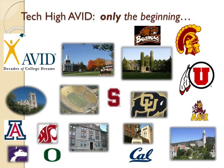 Tech High AVID:
