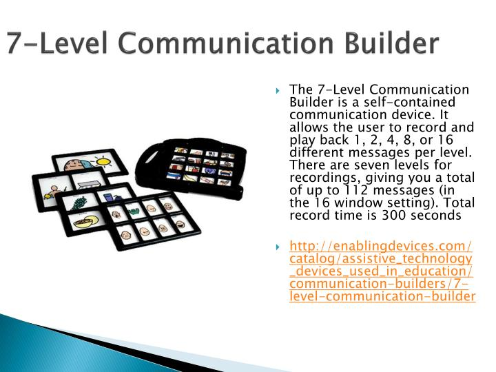 7-Level Communication Builder