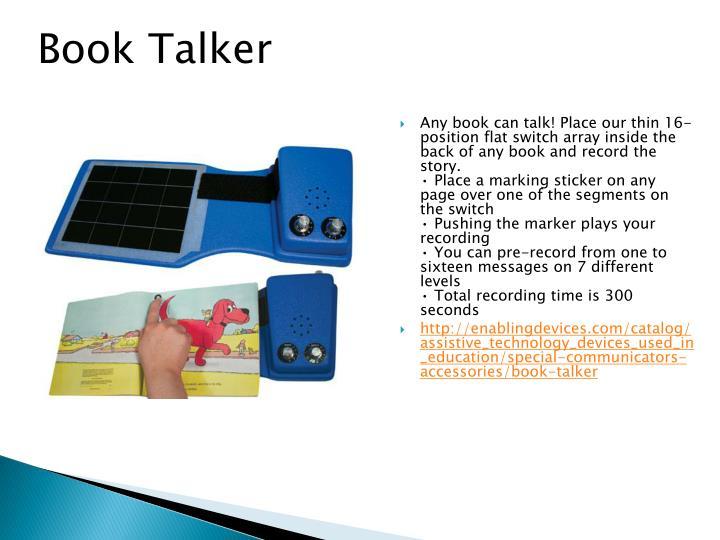 Book Talker