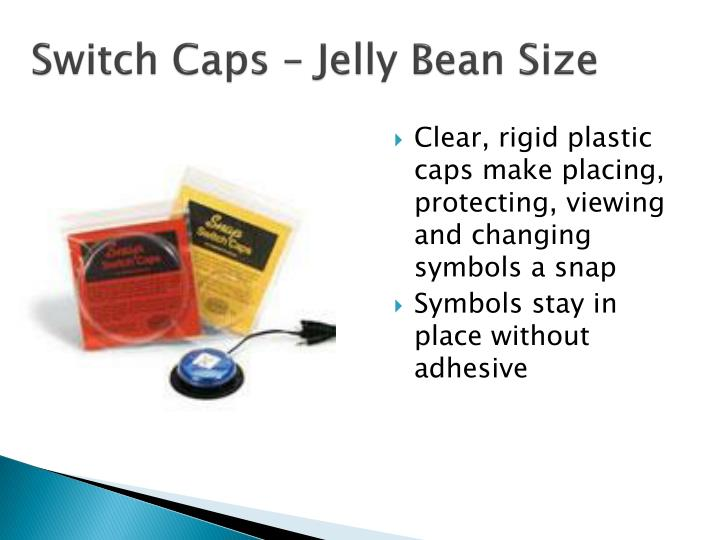 Switch Caps – Jelly Bean Size