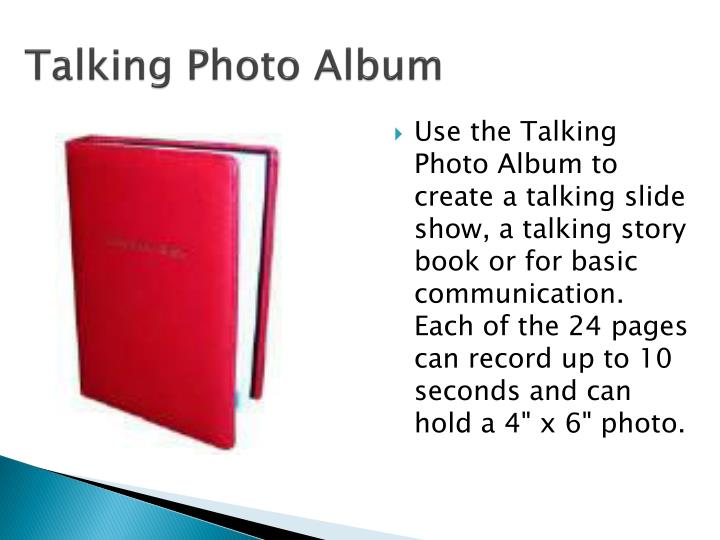 Talking Photo Album