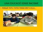 una educaci sense racisme