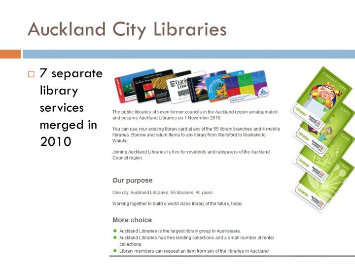 Auckland City Libraries