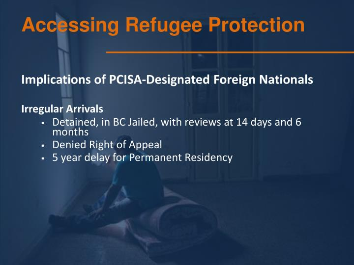 Accessing Refugee Protection