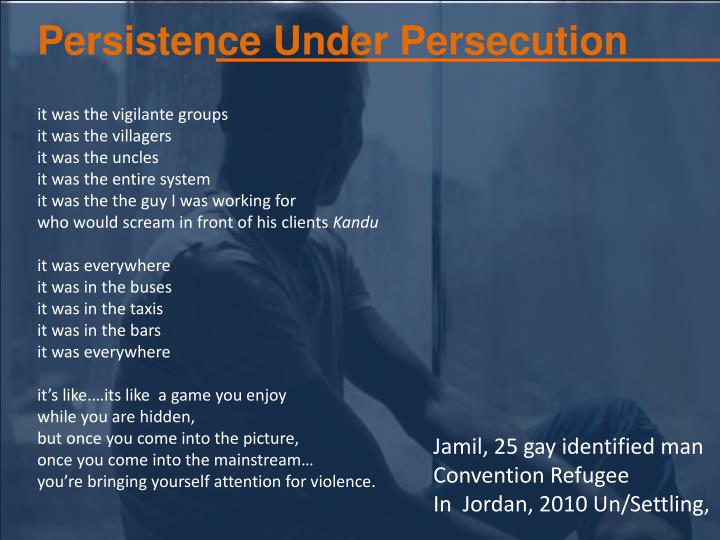 Persistence Under Persecution