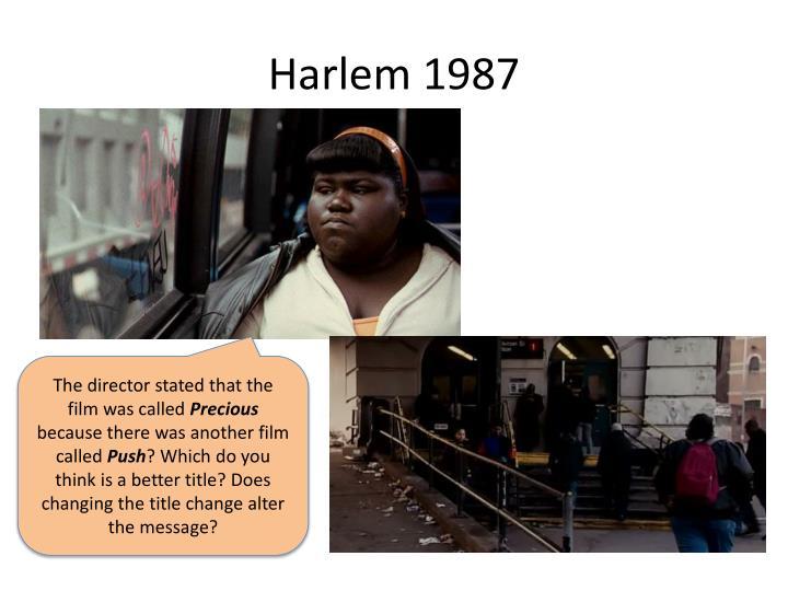 Harlem 1987