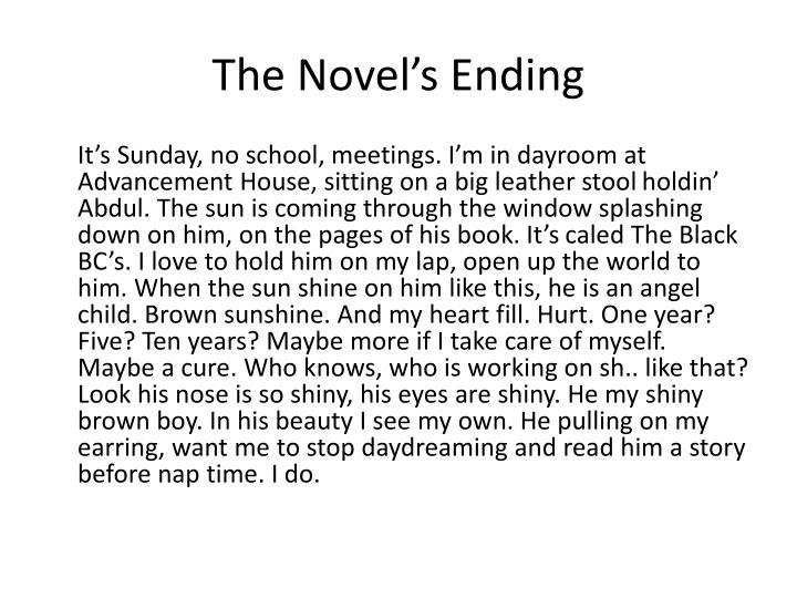 The Novel's Ending