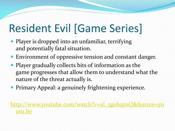 Resident Evil [Game Series]