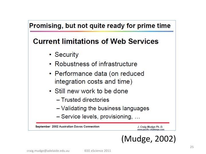 (Mudge, 2002)