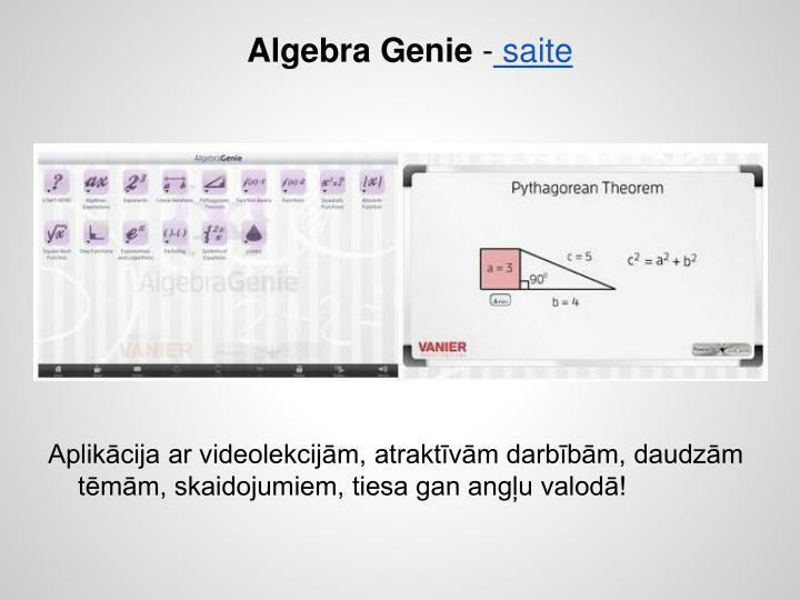 Algebra Genie