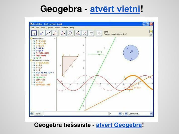 Geogebra -