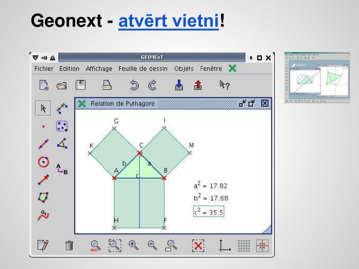 Geonext -