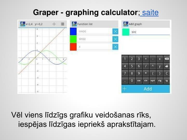 Graper - graphing calculator