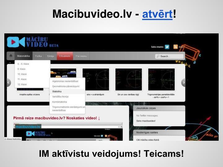 Macibuvideo.lv -