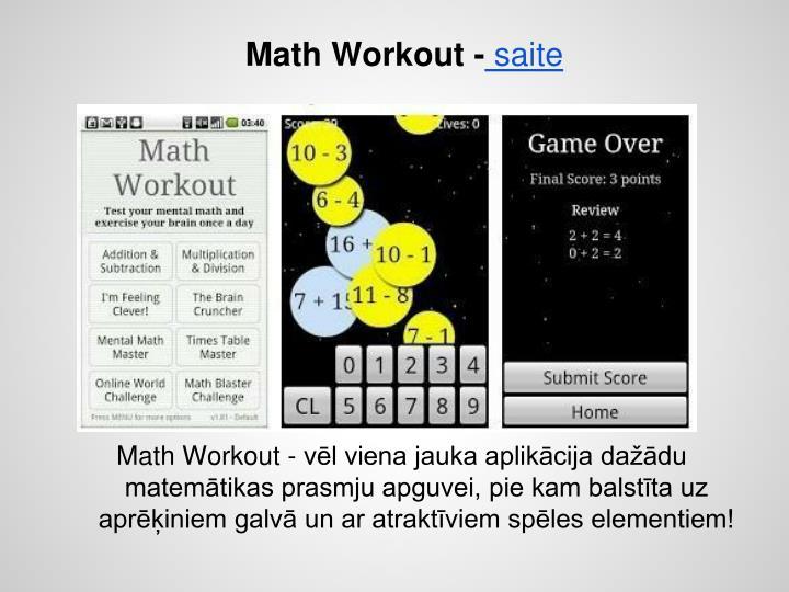 Math Workout -