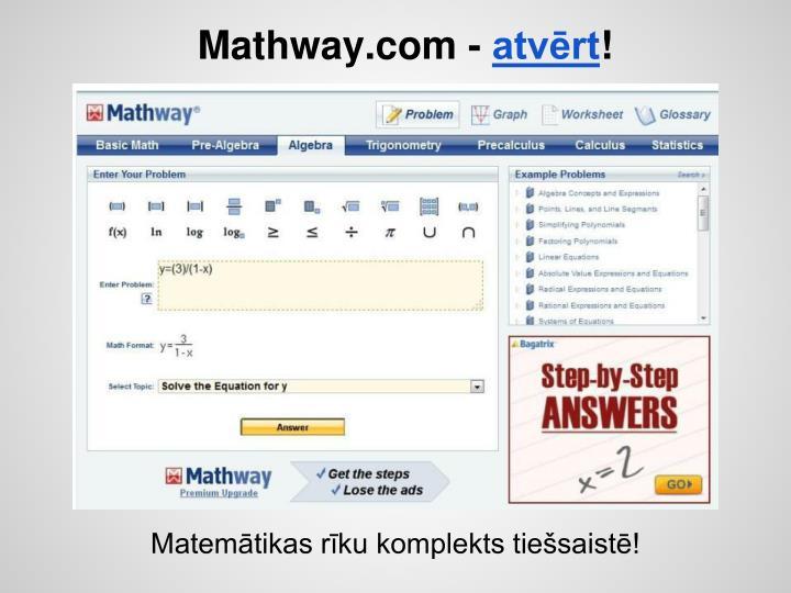 Mathway.com -