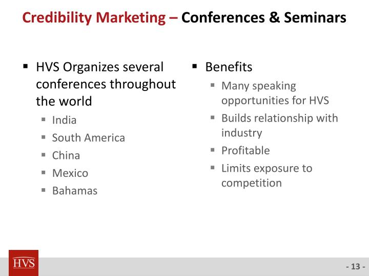 Credibility Marketing –
