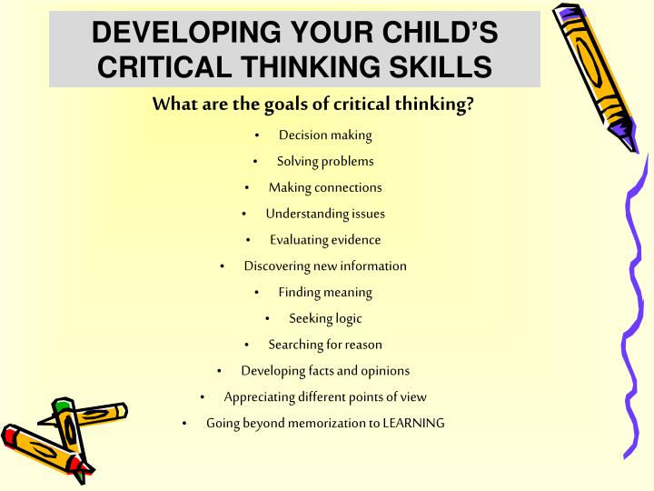 practical ways to develop critical thinking skills