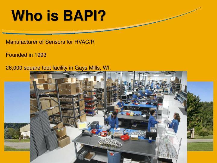 Who is BAPI?