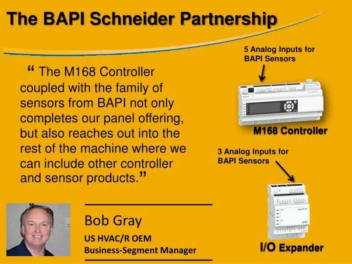 The BAPI Schneider Partnership