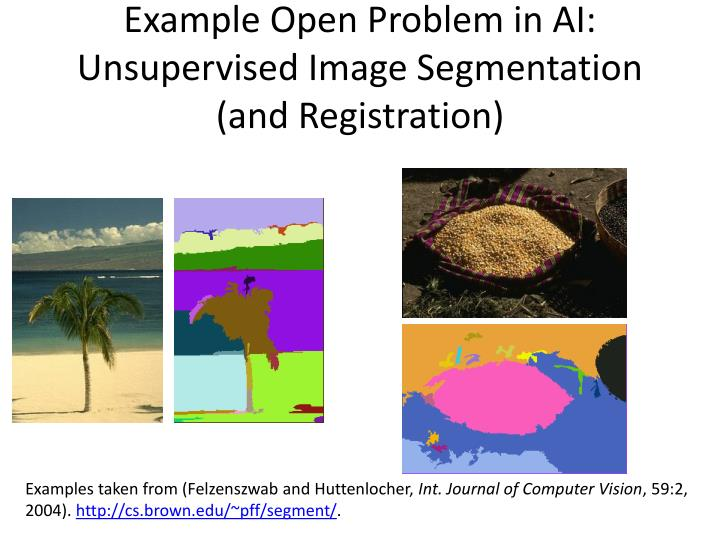Example Open Problem in AI: