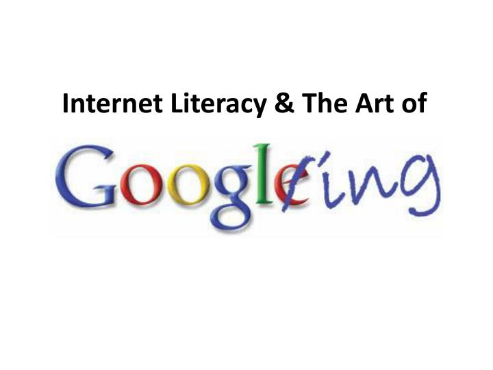 Internet literacy the art of