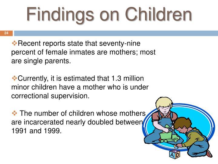 Findings on Children