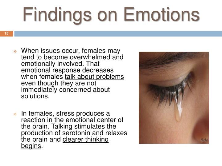 Findings on Emotions