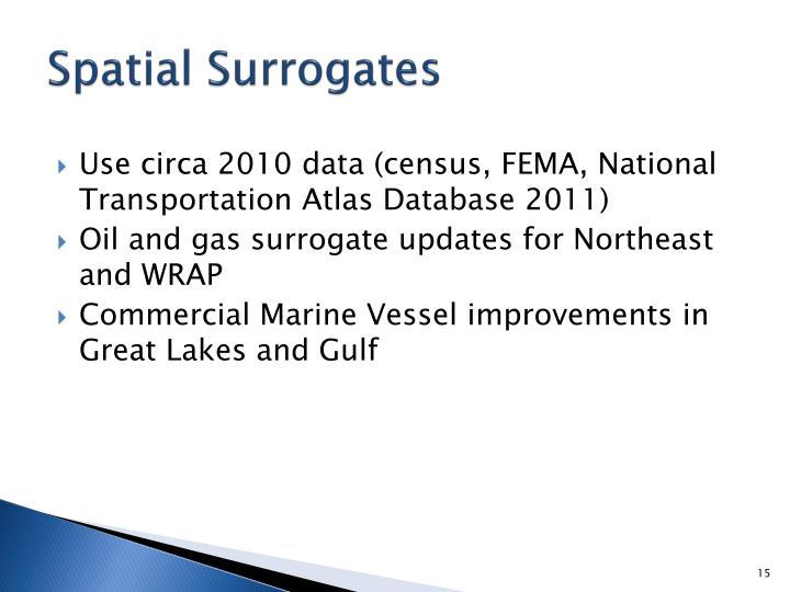 Spatial Surrogates