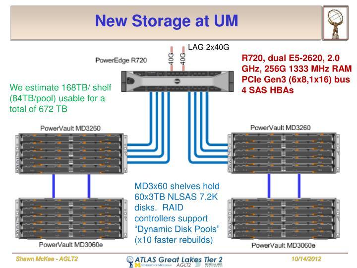 New Storage at UM