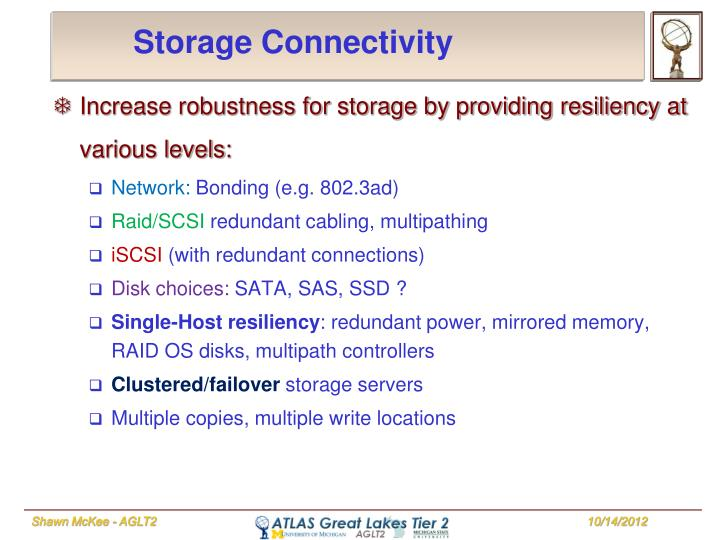 Storage Connectivity